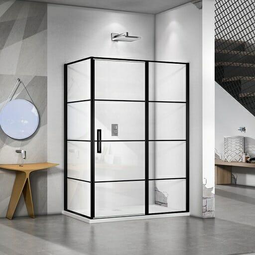 Mat zwart douche cabine bouwcity 512x512