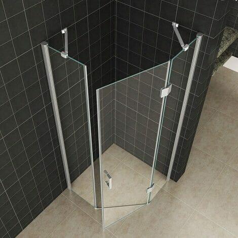 Wiesbaden douchecabine 5 hoek 8mm glas NANO coating 2