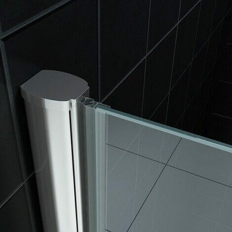 Wiesbaden nisdeur met profiel 8mm helder glas NANO coating 1