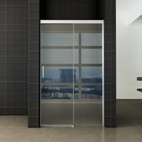 Wiesbaden softclose 2.0 douchedeur 120x200cm 8mm helder glas NANO coating