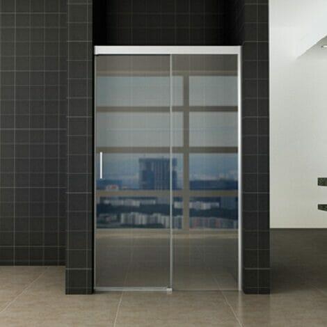 Wiesbaden softclose 2.0 douchedeur 90x200cm 8mm helder glas NANO coating