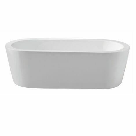 Xellanz bianco vrijstaand acryl ligbad 178x80 cm wit 2