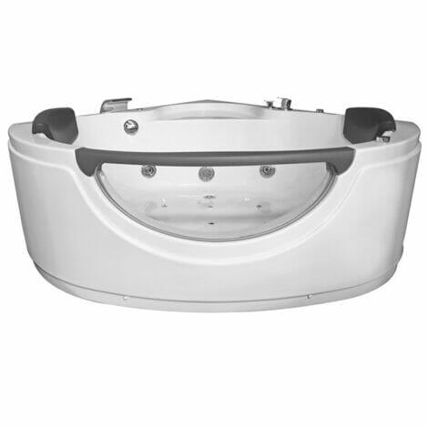 Xellanz borneo massage balneo hoekbad 140x140x72 cm