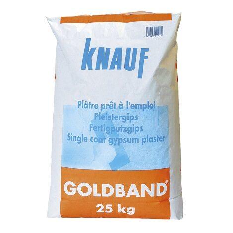 Knauf Goldband Gipspleister 25kg