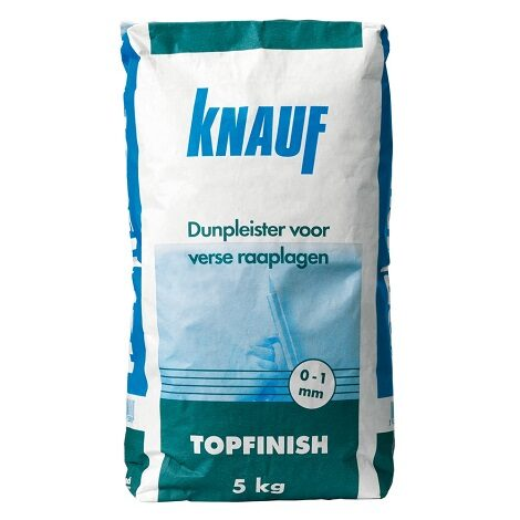 Knauf Topfinish Wit 5kg