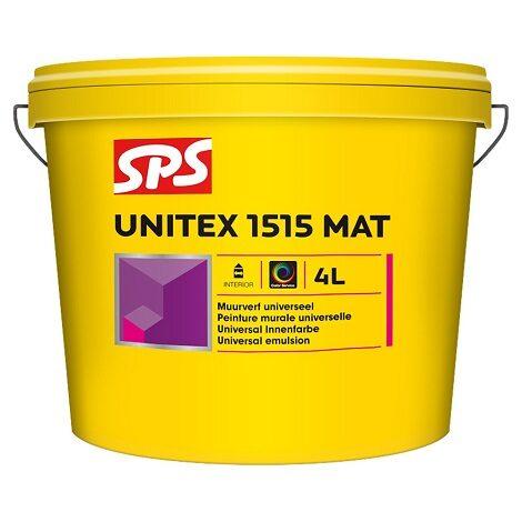 SPS 1515 Unitex mat muurverf wit 4L