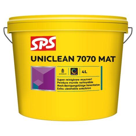 SPS 7070 Uniclean mat muurverf 4L