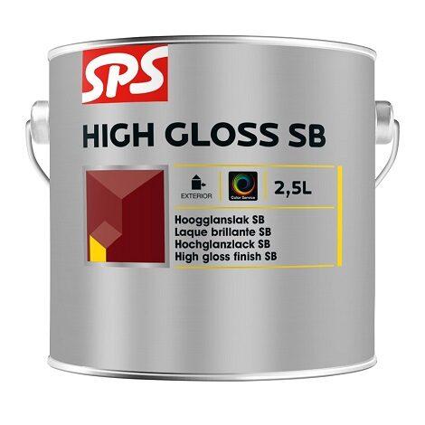 SPS High Glossy Hoogglanslak HSB 2.5L